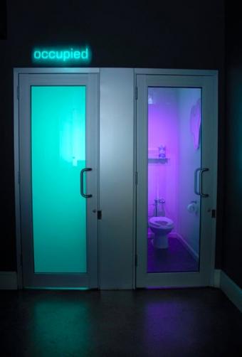 Restroom Privacy Glass