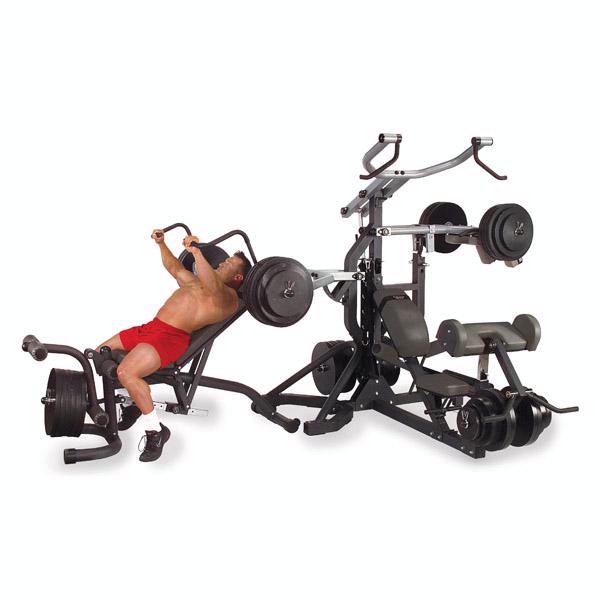 Body Solid Free Weight Leverage Home Gym