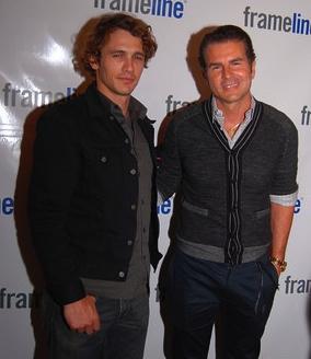 James Franco and Vincent De Paul