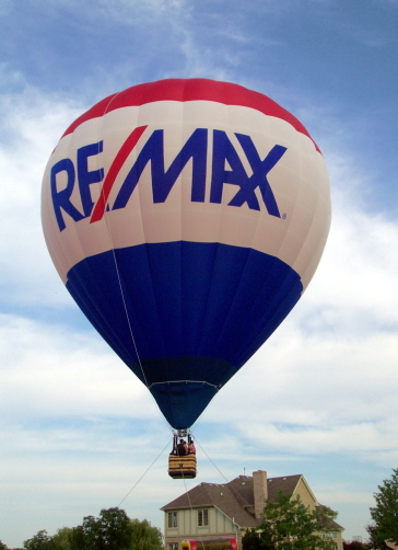 RE/MAX Hot Air Balloon tether