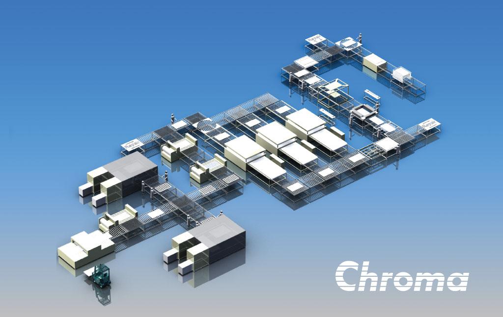 Chroma Solar Panel Assembly Line