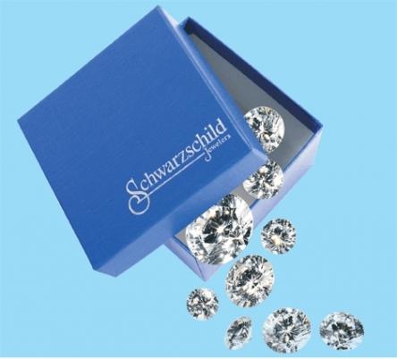 Schwarzschild diamonds