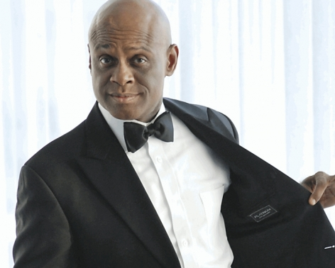 Colyar Performs Political Stand-Up in Gary, Ind.
