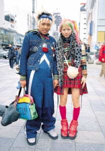 Мода и стиль городской женщины.