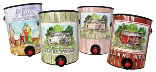 "PINOT offers four kinds of ""Wine in a Paint Can"""