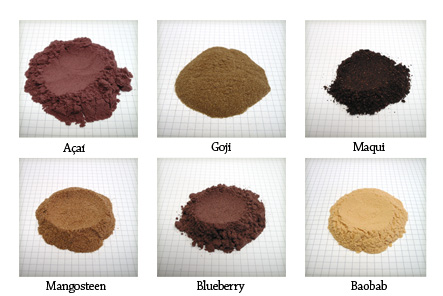 superfruit powders