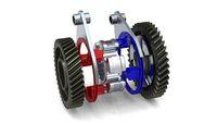 Zeroshift mult-speed transmission