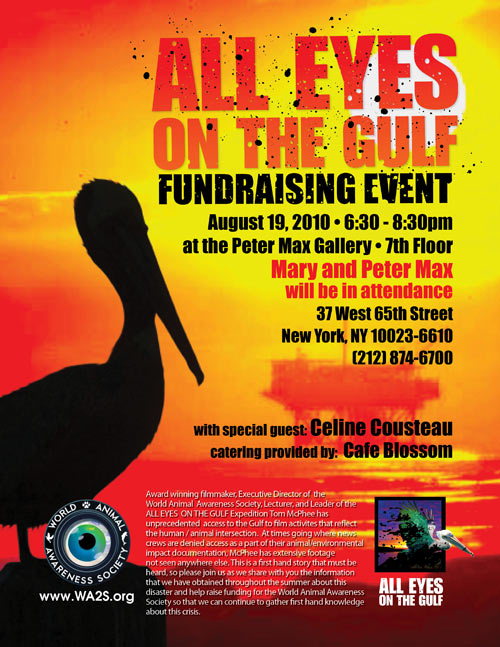World Animal Awareness Society Fundraiser Aug 19