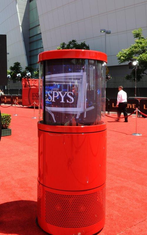 DynaScan 360 degree LED display at ESPY Awards