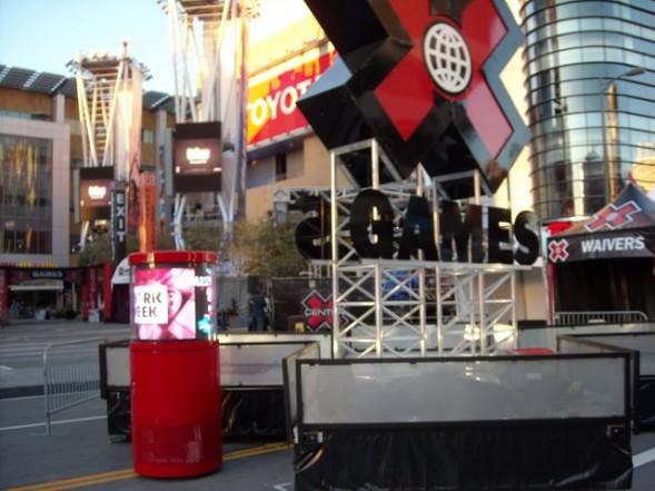 DynaScan 360 degree LED display at X Games 16