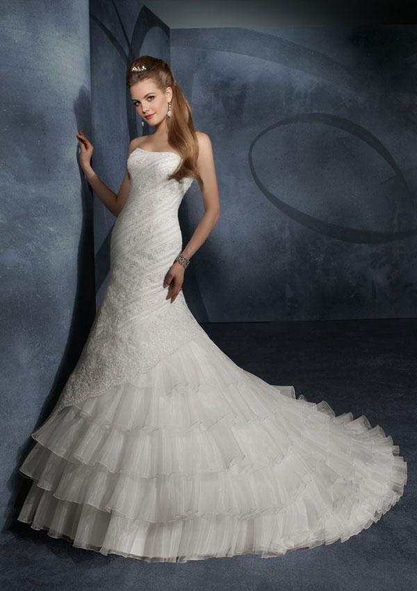 Trumpet Bottom Wedding Dresses : Wedding dressesm