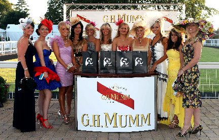 Ayr Racecourse Ladies Night 2010