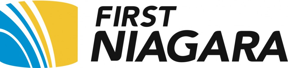 First Niagara Logo.Color Design with Name
