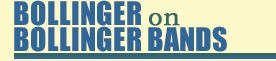 Bollinger on Bollinger Bands Website Logo