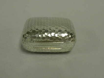 french 950 silver soap box circa 1880