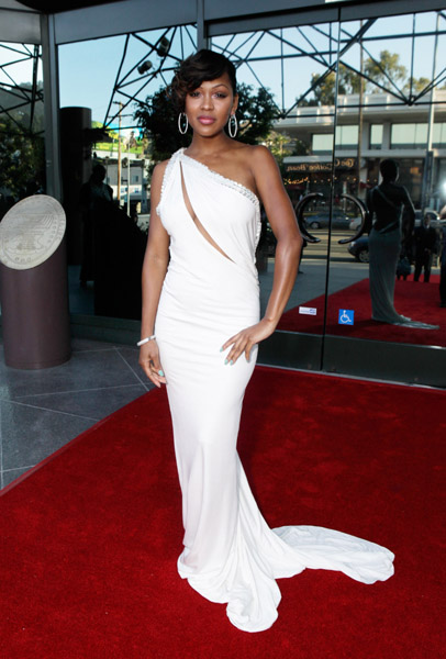 Meagan Good in Jean Fares Couture