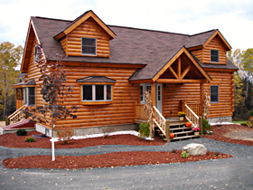 Log Homes Council Features Coventry Log Homes 39 Memphis