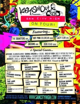 San City High Tour Poster!