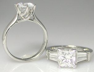 Discount Engagement Rings In Minnesota Designer Diamond