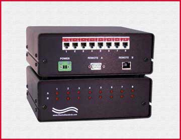 M4515 8-Channel A/B RJ11 LAN Access Switch