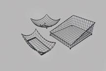 FFR-DSI Contemporary Black Metal Baskets