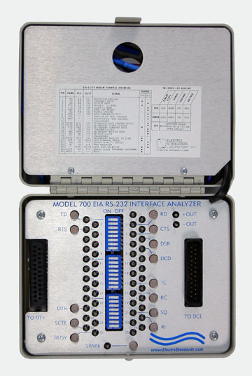 Model 700 Breakout Box Features 2 Voltage Test Points To