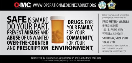 Alaska Operation Medicine Cabinet