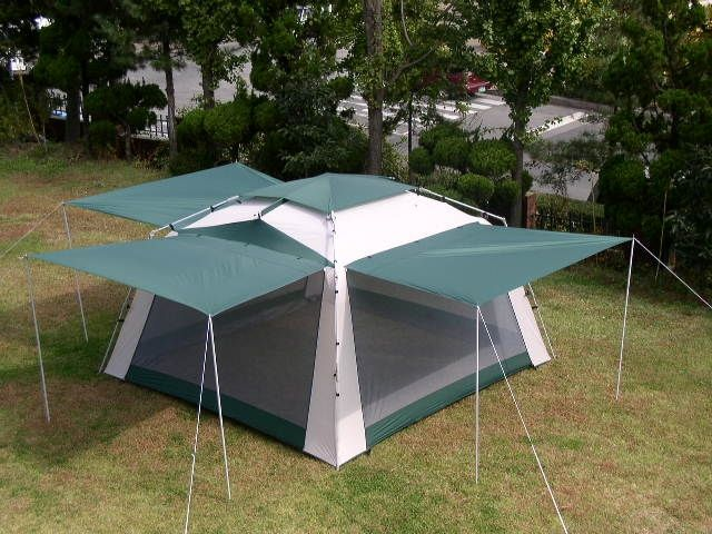 deluxe-screen-tent & The Fastest Screen Tent Alive A Screen House for Fall Enjoyment ...