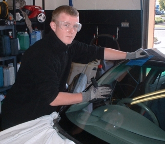 Patrick O'Connor is one of the new apprentices