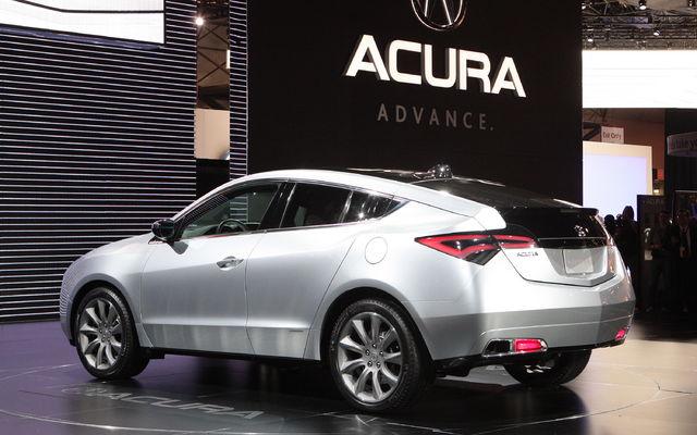 Acura ZDX $12,000 Cash Discount