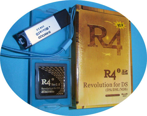 R4i Gold 2.0 Package