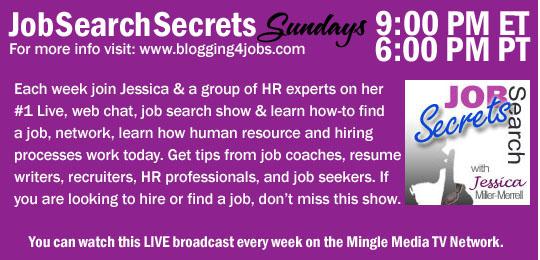 Job Search Secrets on Mingle Media TV