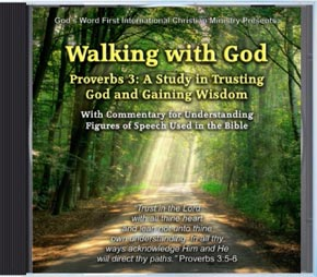 Revealing New Christian Cd Release Walking With God By