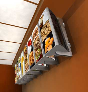 Advanced Menu Systems Launches New Lines Of Backlit Led