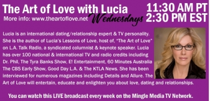 The Art of Love on Mingle Media TV