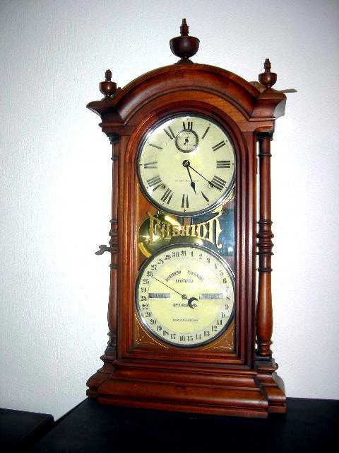 Fashion clock made 1875