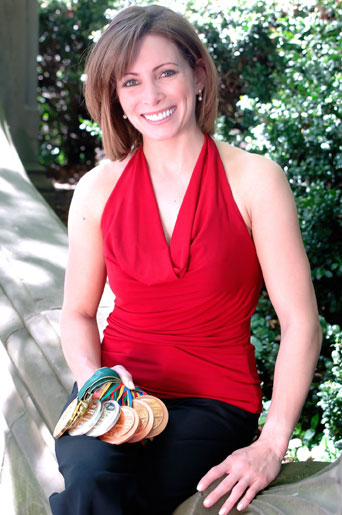 Olympic Gold Medalist Shannon Miller Emcees St Vincent S