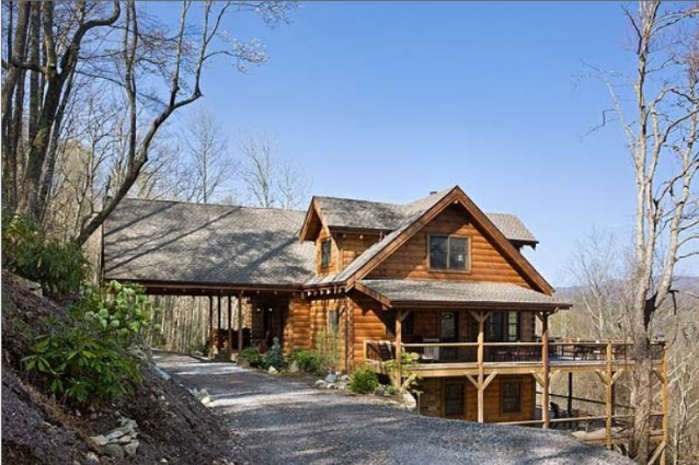 A dream home in north carolina s high country the log for Dream country homes