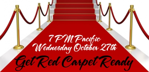 Get Red Carpet Ready Mixer and Panel LIve Stream