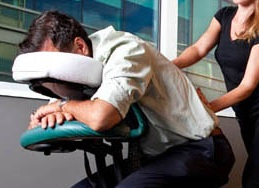 Corporate Chair Massage West Palm Beach