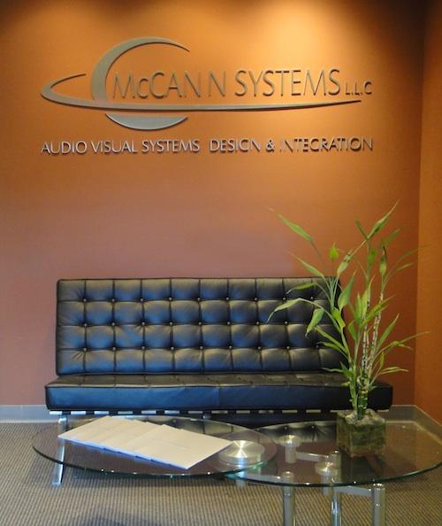 The Lobby of McCann's St Louis Office