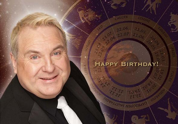 Russell Grant Birthday Card - sent through Docmail