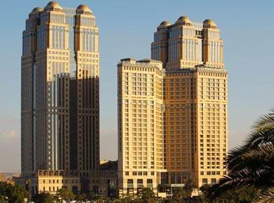 Fairmont Nile City hotel in Cairo Egypt