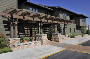 Camino del Sol, UCI's first townhome-style living