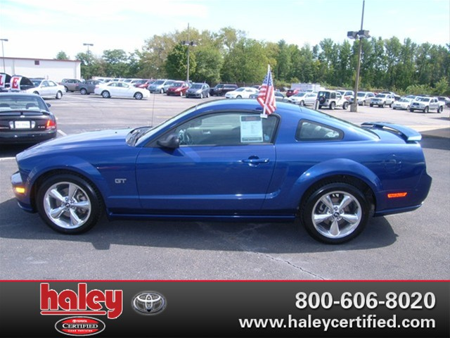 2006 Ford Mustang Gt Sale At Haley Certified Center In