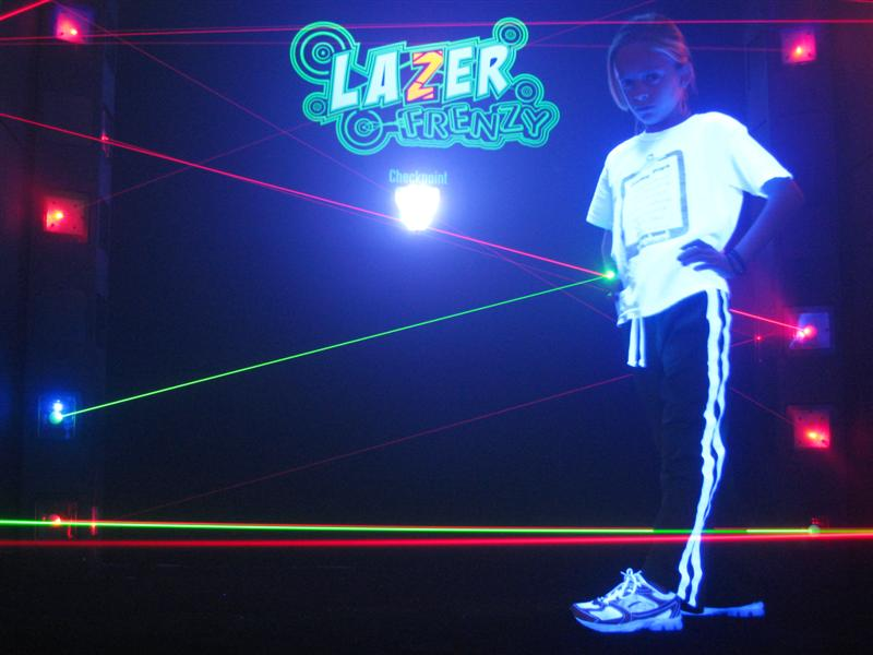 Lazer Frenzy Added To Alley Cats In Arlington Texas