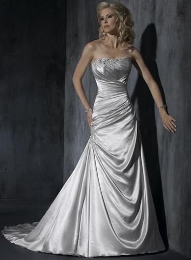 Silver Wedding Dresses Project
