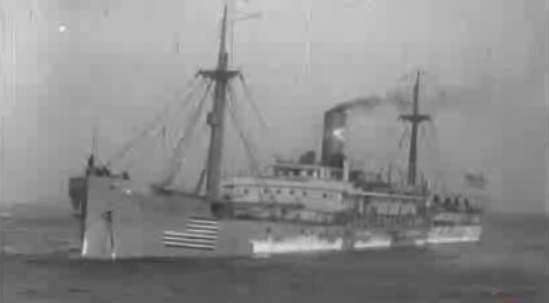 Steamship Rochester, sunk Nov 2, 1917 with Hinman