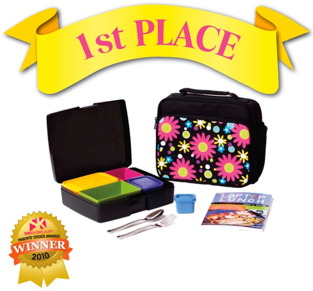 kids bento lunch boxes by laptop lunches receive parenting award from shekn. Black Bedroom Furniture Sets. Home Design Ideas