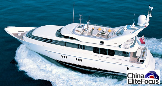 Rich Chinese buy Luxury boats - China Elite Focus